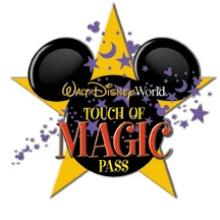 Disney Toque de 2 Día de Boleto Mágico