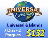 Universal e Islas de Boletos de Aventura